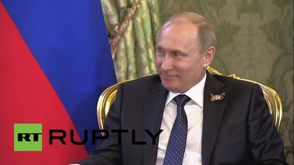 Russia: Putin and Egyptian President Sisi exchange warm words after Moscow's V-Day parade