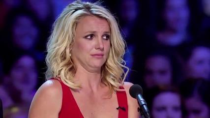 Луд фен плаши Бритни в X Factor Us