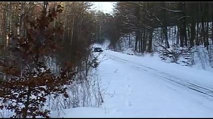Subaru Impreza snow rally