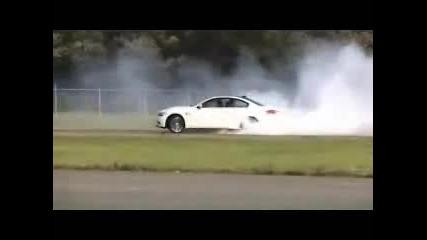Bmw M3 пали гуми !!!