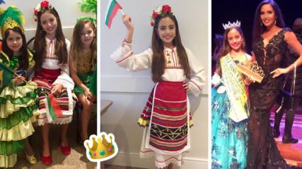 Обявиха българче за най-красиво в света! Дъщеричка е на популярна Мис България