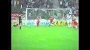 Цска - Ювентус 3ти гол на Михтарски