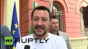 "Italy: Elections are ""referendum of independence"" - Lega Nord leader Salvini"