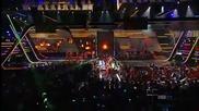 Невероятно шоу! Daddy Yankee & Prince Royce - Ven Conmigo (live - Premios Juventud 2011)