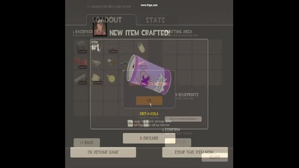 Tf2 craftvane na crit - a - cola