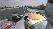 F1 Hungary 2008 Onboard lap