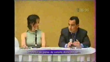 Alanis Morissette - Press Conference 2003