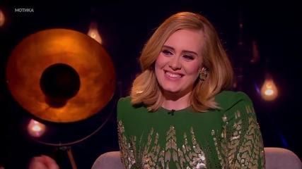 Певицата Adele се яви на конкурс за свои имитаторки