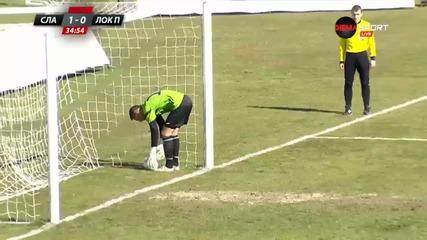 Славия - Локо Пд 3:0, А група, плейофи, 23-и кръг