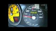 Ненормално ускорение на ferrari F430 Scuderia 340 Km/h
