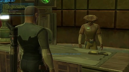 The Old Republic - Imperial Agent starting zone playthrough - part 1 - 2
