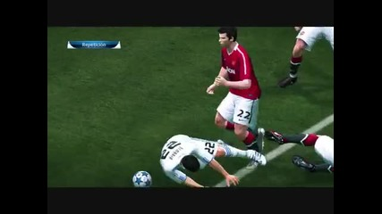 Manchester United vs Real Madrid C F