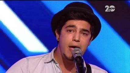 Мирян Костадинов - X Factor (17.09.2014)