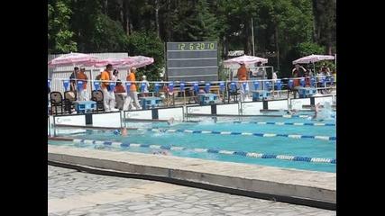 Мина на състезание по плуване в Сандански.6 коридор. Има ли тук фенове на плуването! :) :) :)