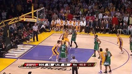 2008 Нба Финал: Бостън - Лейкърс (невероятно връщане в мача на Селтикс)
