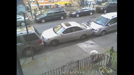Паралелно паркиране в Ню Йорк