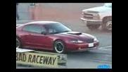 Vw Костенурка Пръсва Ford Mustang Gt