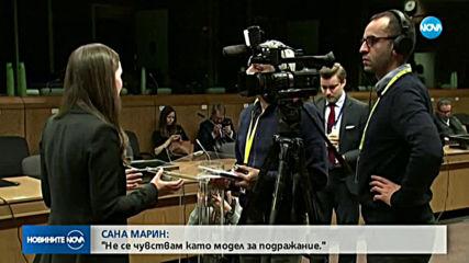 Най-младият премиер на Финландия привлече вниманието в Брюксел