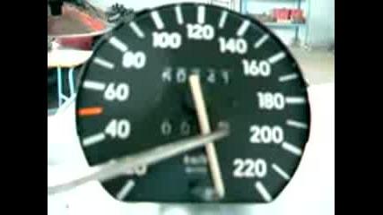 Opel kadet 0 - 250 km