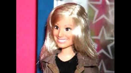 Ashley Като Кукла Барби!