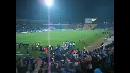 Левски - Динамо (гола В 93 Мин. По Радиото