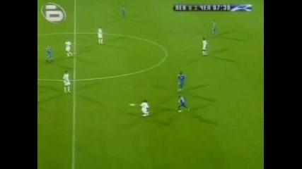 Левски 1 - 3 Chelsea