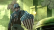Върховни Отмъстители / Капитан Америка в битка с нацистите