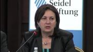 Бъчварова: Държавата се ангажира с политиките за намаляване на бедствията и авриите (1)