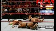 Гробаря и Джон Сина срещу Dx срещу Крис Джерико и Биг Шоу - Част 2 ( Raw 16.11.2009 )