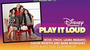 Austin&ally : Glee Club Mash Up (audio)