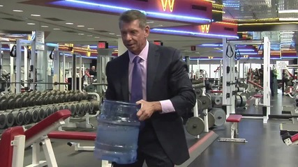 Vince Mcmahon takes part in the Ice Bucket Challenge