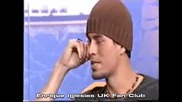 Enrique Iglesias excluisive interview this morning 20th November 2002 part 1