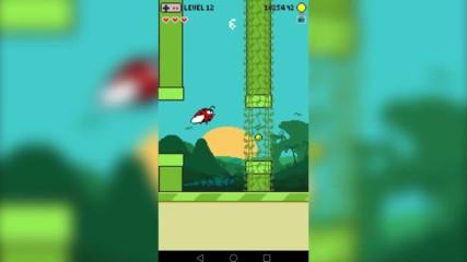 Геймплей на новата българска игра Angry Fly (безплатна в Google Play)
