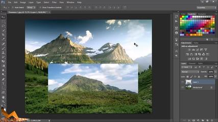 Работа с изображения - Photoshop Уроци за Начинаещи Епизод 3