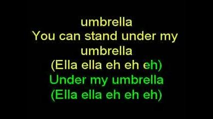 Rihanna ft. Jay-z [karaoke]