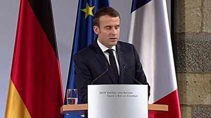 Germany: Macron and Merkel sign new Franco-German Treaty of Aachen