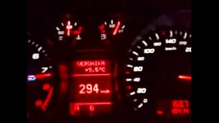 ! * 308 км/ч на магистрала Тракия с Audi R8 * !