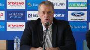 Ивков: Апелирам за доверие, нужна ни е максимална подкрепа от феновете