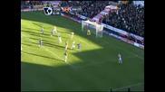 Стоук Сити - Манчестър Юнайтед Гол На Тевес След Асистенцията на Бербатов 26.12.08