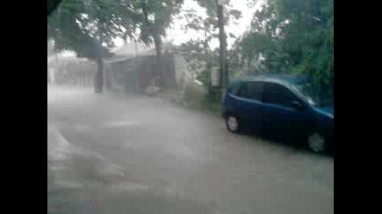 Буря в Добрич