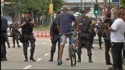 Полицейска обстановка преди Белгия – Русия