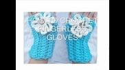 Как да си изплетем интересни и красиви ръкавици без пръсти