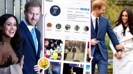 Instagram ще издържа Меган Маркъл и принц Хари?! Двамата си остават богати!