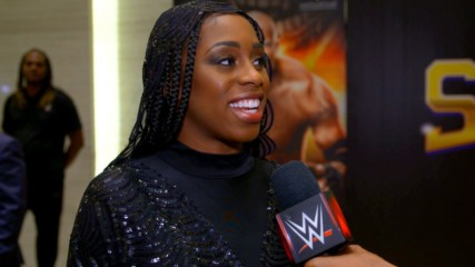 Naomi is feeling her best ahead of WWE Super ShowDown