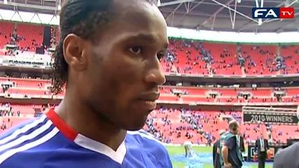 Didier Drogba on scoring the winner