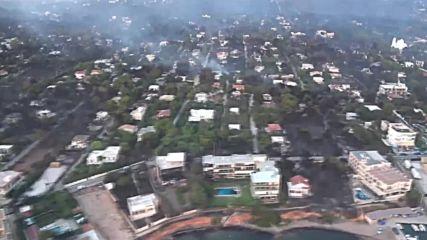 Огнената стихия в Гърция взе жертви