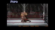 Wwe 12 - Daniel Bryan vs. Mark Henry vs. Big Show [ Steel Cage Match ] 1/2