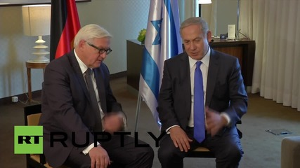 Germany: Steinmeier and Netanyahu discuss October's violence in West Bank