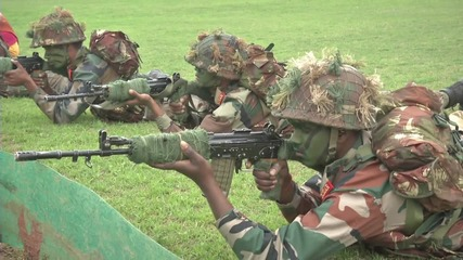 India: Military parade celebrates 68th Army Day
