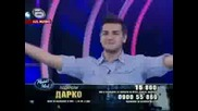Music Idol 3 - Дарко - Може Би (първи голям концерт)